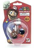 "Para Goomba & Bob-omb - Super Mario (~1.6"" & ~1.25"") Mini Figure"