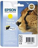 Epson T0714 Cartouche d'encre Jaune