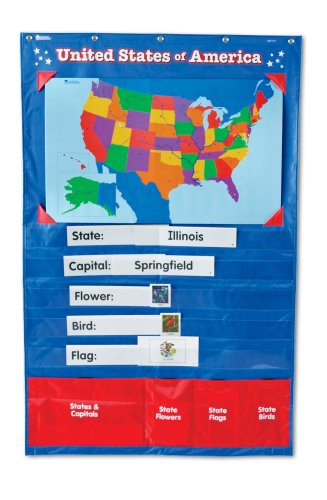 Learning Resources U.S. Pocket Chart - 1