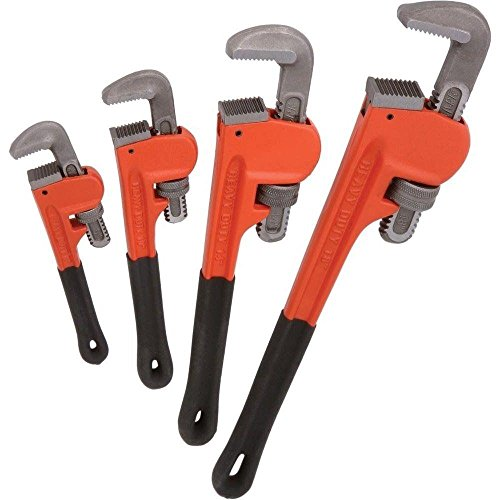 socket-wrenchesc4pc-heavy-duty-pipe-wrench-set-monkey-heat-treated-adjustable-8-10-14-18-new