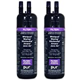 Whirlpool PUR Advd Fridge Filter W10295370/FILTER1 - 2-Pack