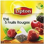 Lipton Th� parfum� 5 Fruits Rouges 20...
