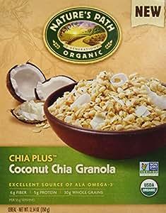 Nature's Path Chia Plus Granola, Coconut Chia, 12.34-Ounce