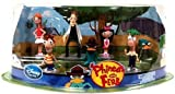 Nceonshop(TM) Disney Exclusive Phineas Ferb Figurine Playset New
