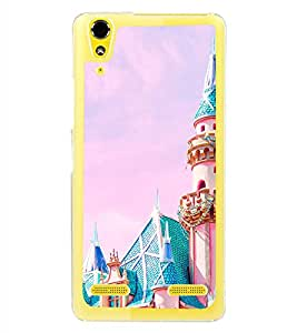 Famous Castle 2D Hard Polycarbonate Designer Back Case Cover for Lenovo A6000 Plus :: Lenovo A6000+ :: Lenovo A6000
