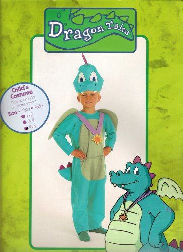 [Dragon Tales Costume: Ord - Children's Size 1-2] (Dragon Tales Costume)