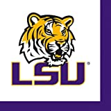 Louisiana State University Cocktail Paper Napkins 36 Pack