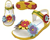 Pipsqueaks Toddler Vine Flower Sandals