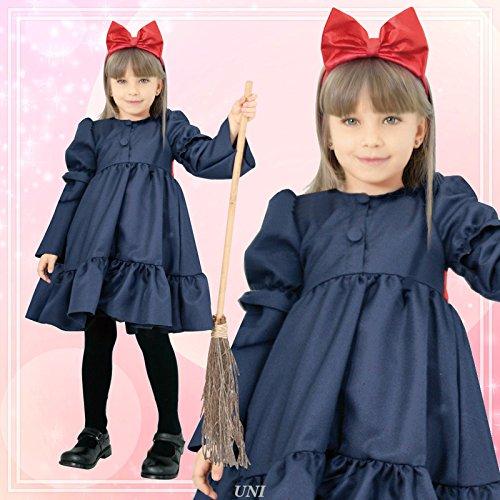 リボン ウィッチ キッズコスチューム 女の子 100cm-120cm 95133S