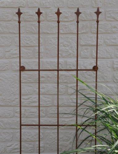 Spalier vogel gr o 45x2x152cm 123319 for Dekostecker metall