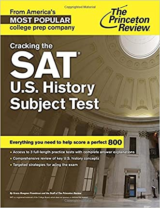 Cracking the SAT U.S. History Subject Test (College Test Preparation) written by Princeton Review