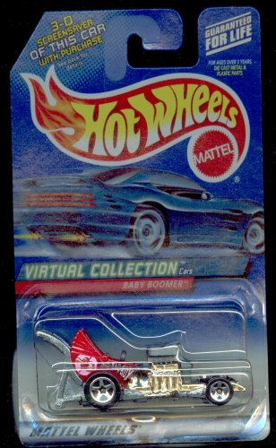 Hot Wheels 2000-173 RED Baby Boomer Virtual Collection 1:64 Scale - 1