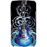 For Samsung Galaxy S3 Mini I8190 :: Samsung I8190 Galaxy S III Mini :: Samsung I8190N Galaxy S III Mini Beautiful Guitar ( Beautiful Guitar, Guitar, Black Background, Nice Guitar ) Printed Designer Back Case Cover By FashionCops