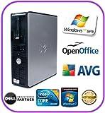 FAST CORE 2 DUO DELL OPTIPLEX 330 PC 80GB DVD-RW WINDOW XP PRO SP3 w/ DELL KEYBOARD & MOUSE + 3 MONTHS WARRENTY *BARGAIN*