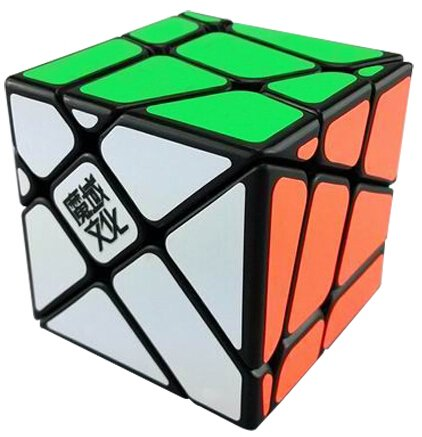 Moyu Yj Crazy Fisher Speed Cube Puzzle Black - 1