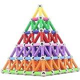 Edress 157 Pcs Magnetic Sticks Building Set Intelligence Toys