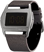 Converse Unisex VR005005 Lowboy Thin Black Aluminum Digital Watch