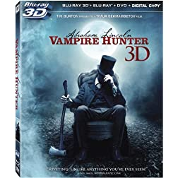 Abraham Lincoln: Vampire Hunter 3D (Blu-ray 3D)