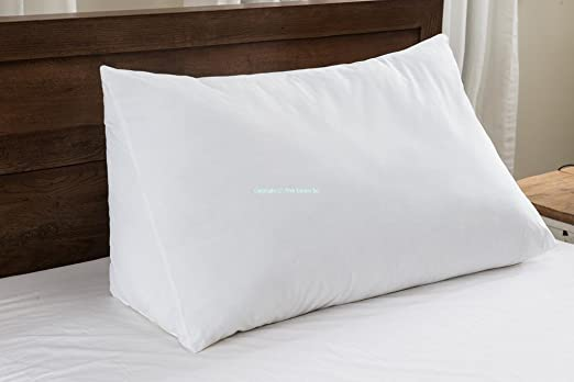 wedge pillow for reading in bed 2