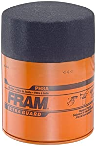 Fram PH8A Extra Guard Passenger Car Spin-On Oil Filter, Pack of 1