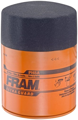 Fram PH8A Extra Guard Passenger Car Spin-On Oil Filter Pack of 1B0000AY4KX