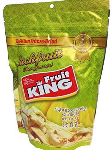 Fruit King Jackfruit Chips, Vacuum Freeze Dried Fruit- 1.75 oz. (Freeze Dried Chicken Honeyville compare prices)