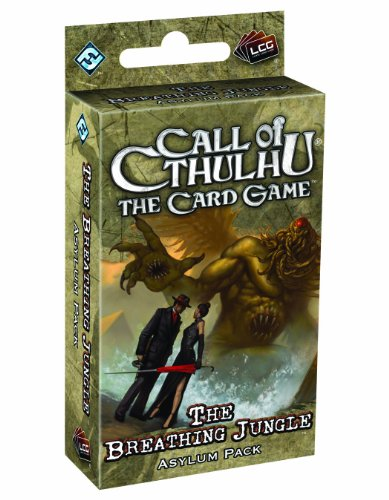 Call Of Cthulhu LCG: The Breathing Jungle Asylum Pack