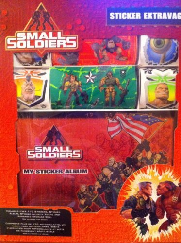 Small Soldiers Sticker Extravaganza Set - 1