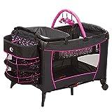 4-Piece-Minnie-Mouse-Pop-Newborn-Set-Stroller-Car-Seat-High-Chair-Play-Yard-Bundle-Baby-Gear-Girl-Infant-Disney