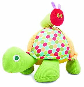 Kids Preferred The World of Eric Carle Pastel Plush Toy, Action Musical Toy