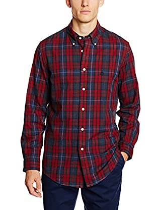 Brooks Brothers Camisa Hombre (Rojo)