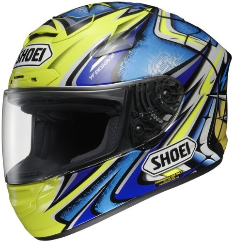 Shoei X-12 Daijiro Tc-3 Size:Lrg Full Face Motorcycle Helmet