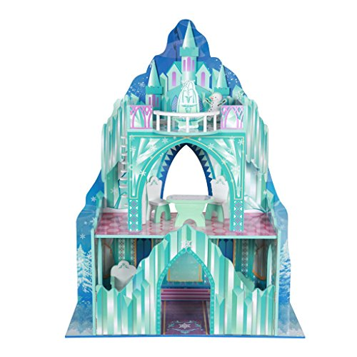 [Teamson Kids Ice Mansion Doll House] (Fire And Ice Party Costumes)