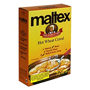Maltex Hot Wheat Cereal, 20-Ounce Boxes (Pack of 6)