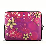 Flowers 9.7″ 10″ 10.1″ 10.2″ inch Laptop Netbook Tablet Case sleeve bag For iPad 2 3/Asus EeePC 10 transformer/Acer Aspire one/Dell inspiron mini/Samsung N145/Toshiba/Kindle DX/Lenovo S205/HP Touchpad Mini 210