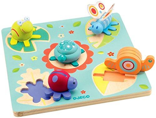 Djeco DJ01031 Wooden Puzzle- Lilo Puzzle - 1