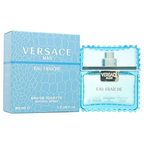 Versace Man, Eau Fraiche da uomo, 50 ml