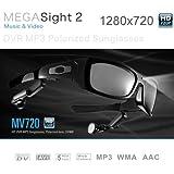 5.0 Mega pixels HD 1280X720 Spy Camera Sunglasses with MP3 player 8GB