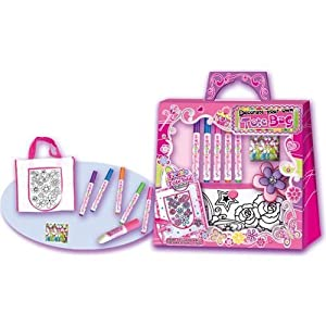 Hot focus decorate your own tote bag toys games for Bag decoration games