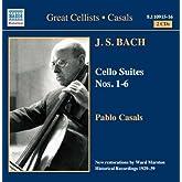 J.S. バッハ:6つの無伴奏チェロ組曲(カザルス)(1927 - 1939)
