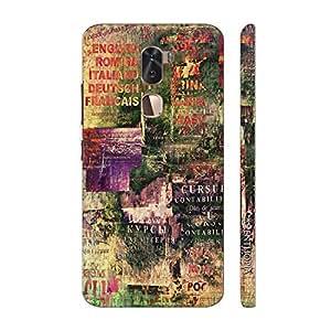 Enthopia Designer Hardshell Case Vintage Distress Back Cover for LeEco Cool 1