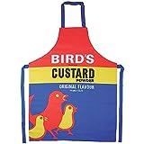 Birds Custard Powder Cotton Apron