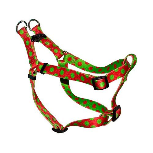Yellow Dog Design Step-In Harness, Medium, Christmas Polka (Yellow Dog Design Harness Medium compare prices)