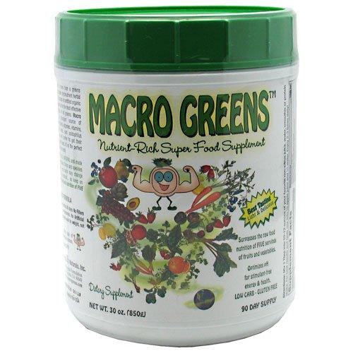 Macro Life Naturals Macro Greens -- 30 oz