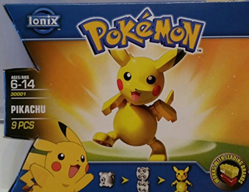 Ionix Pokemon Pikachu Brick Figure #30001 - 1