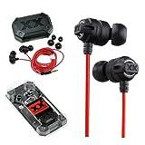 JVC 3.5mm In Ear Headphones HA-FX1X Xtreme Xplosives Bass Stereo Earphone Black New