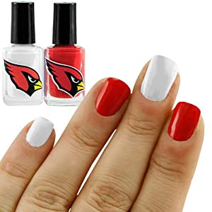 NFL Arizona Cardinals Two-Pack Team Colored Nail Polish
