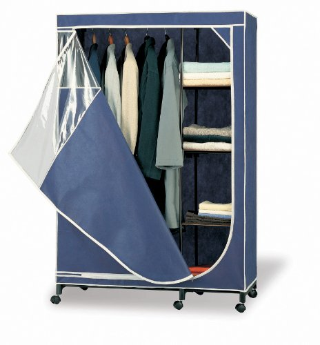 Organize It All Storage Armoire - Blue 75116WB0000ZUG0Y