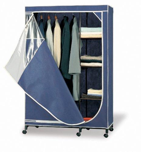 Organize It All Storage Armoire, Blue