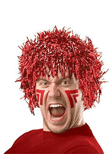 Red Fun Wig - 1
